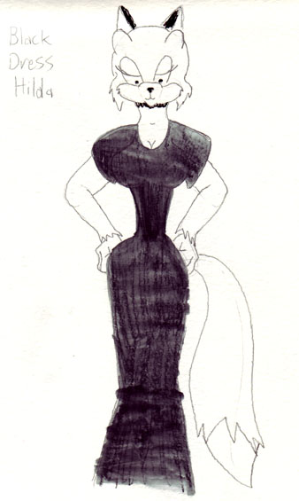 Black Dress Hilda